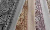 Дизайн штор из органзы