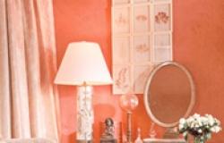 Персиковый цвет в интерьере – идеи и варианты использования