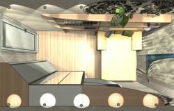 Правильно подбираем дизайн узкой спальни