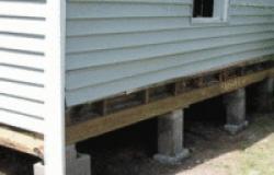 Устройство столбчатого фундамента: особенности строительства