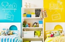 Интерьер детской для разнополых детей