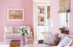 Розовый цвет в интерьере вашего дома
