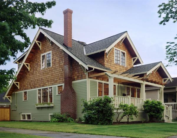 фото домов с сайдингом