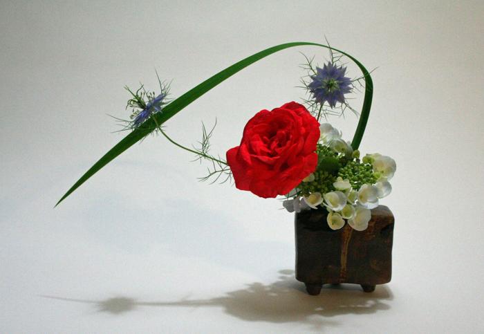 Цветы для экибан своими руками